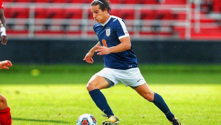 Pablo Andrés Aguilar luchará para ser parte del Súper Draft de la MLS, evento en el que son contratados los mejores futbolistas universitarios. (Foto Prensa Libre: Cortesía)