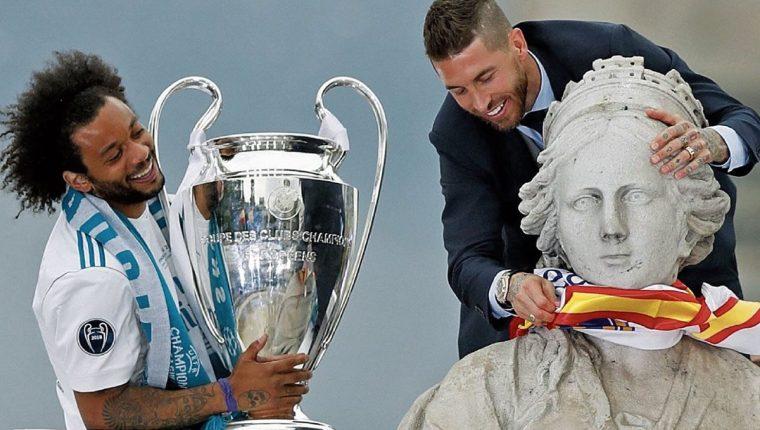 Marcelo ha ganado cuatro Ligas de Campeones con el Real Madrid. (Foto Hemeroteca PL).