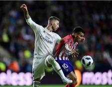El Real Madrid y el Atlético podrán jugar en los Estados Unidos. (Foto Prensa Libre: AFP)