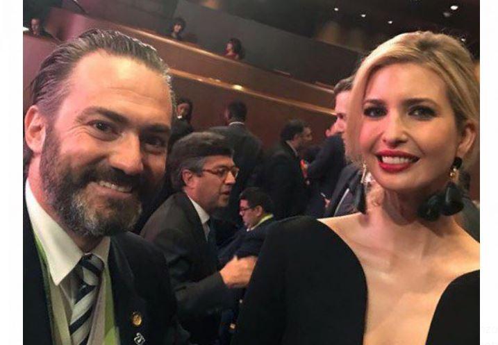 Acisclo Valladares hijo invita a Ivanka Trump a visitar Guatemala