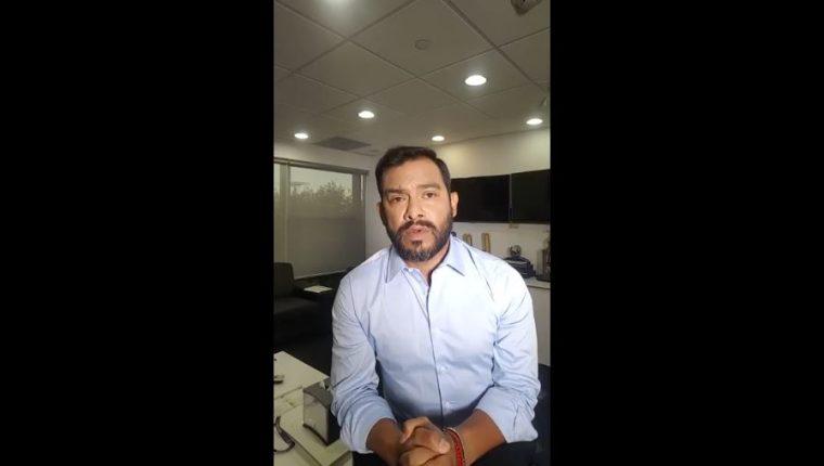 Carlos Ruiz envió un mensaje a los guatemaltecos por la situación que vive el país. (Foto Prensa Libre: Youtube)