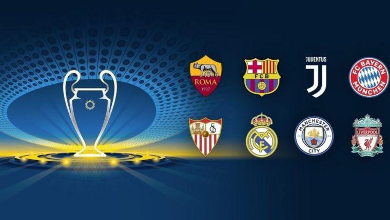 La organización de la Champions definirá el viernes las series de cuartos de final. (Foto Cortesía Uefa).