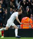 El goleador Harry Kane mete a Inglaterra a la final de la Liga de Naciones de la Uefa. (Foto Prensa Libre: AFP)