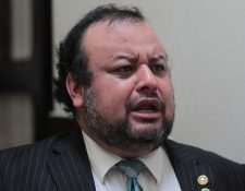 Diputado César Sandino Reyes, de UNE. (Foto Prensa Libre: Hemeroteca PL)