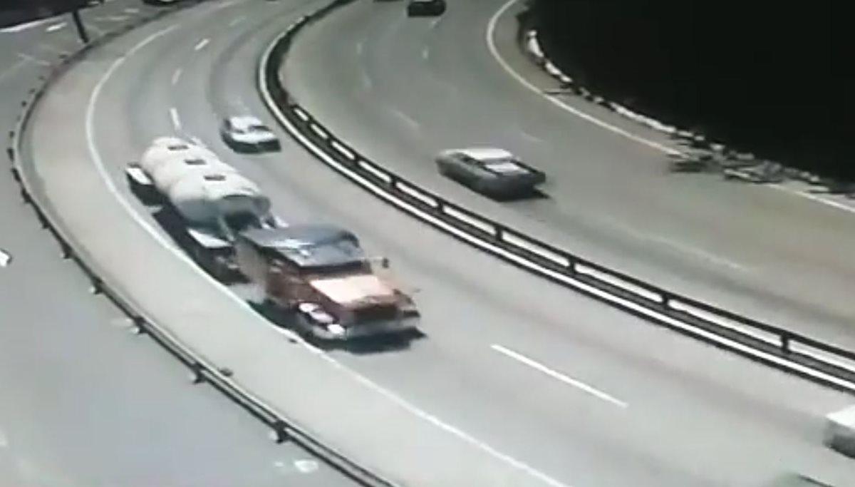 Accidente San Cristóbal: El piloto del tráiler iba rápido y bocinaba, dice Emixtra
