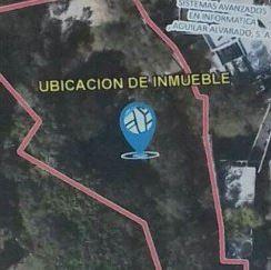 Terrenos vinculados al caso La Línea a los cuales el MP decretó medidas cautelares. Están ubicados a la par de la casa Los Eucaliptos de Roxana Baldetti. (Foto Prensa Libre: MP)