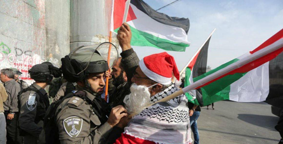 Las tensiones por Jerusalén ensombrecen la celebración de la Navidad en Belén
