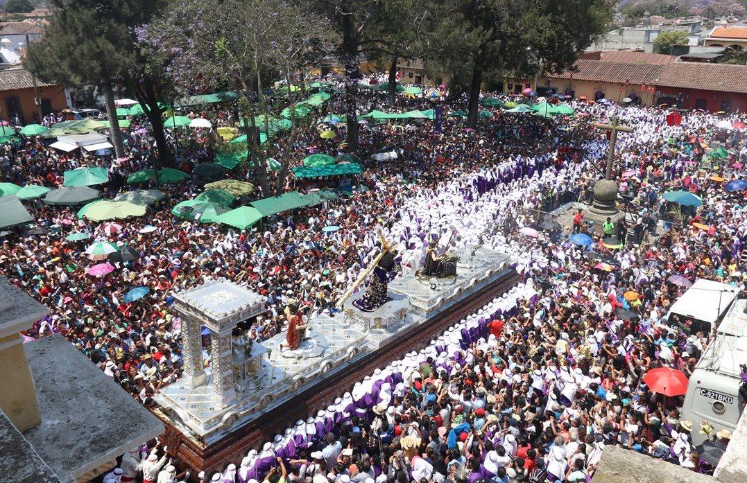 Recorrido de procesión del Nazareno de la Merced de Antigua Guatemala será más extenso