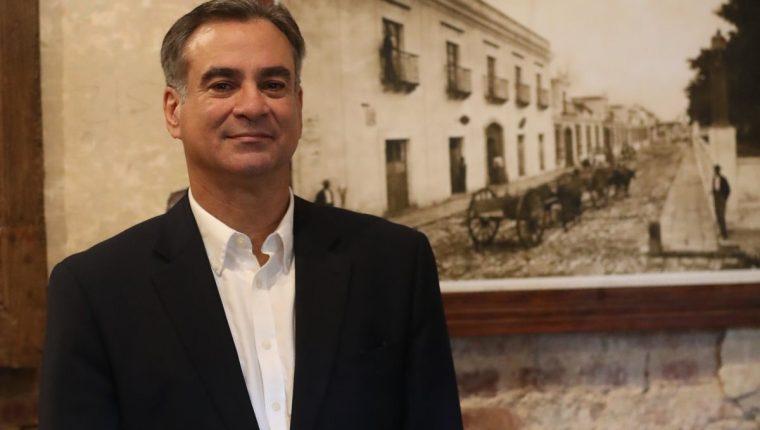 El diplomático Jorge Skinner Klée concedió una entrevista a Prensa Libre, en la cual explica las actuaciones del Ejecutivo en relación con Cicig. (Foto Prensa Libre: Esbin García)
