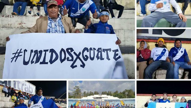 Niños, jóvenes y demás aficionados al futbol mostraron su apoyo en los diferentes estadios de Liga Nacional. (Foto Prensa Libre: TodoDeportes)