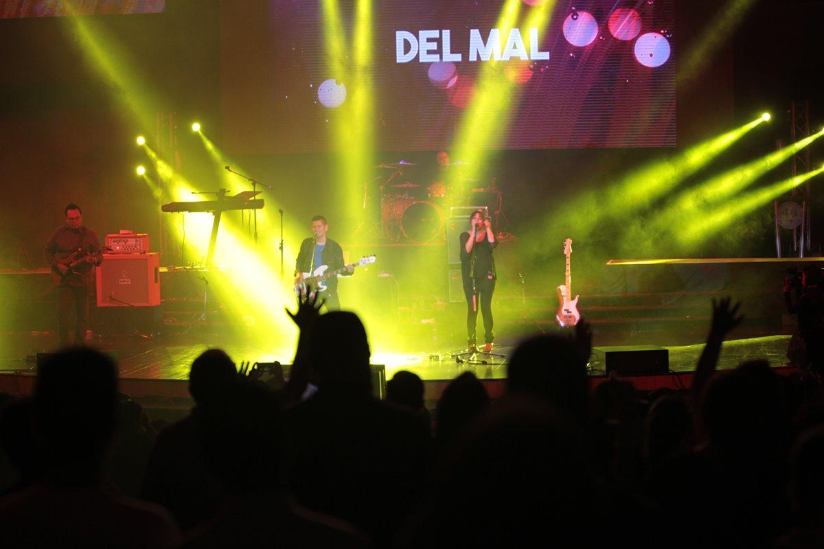 Explo Music Fest reúne a las mejores bandas de música cristiana. (Foto Prensa Libre: Ángel Elías)