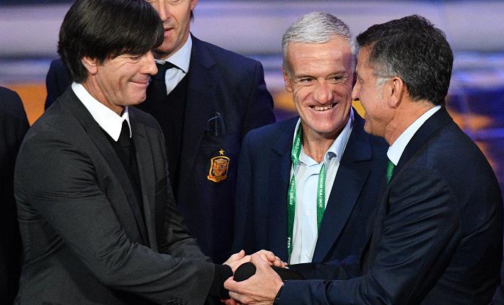 El técnico Juan Carlos Osorio de México, tendrá una dura prueba contra el campeón del Mundo, Alemania. (Foto Prensa Libre: AFP)