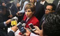 La diputada Nineth Montenegro, de Encuentro por Guatemala, enfrenta un antejuicio. (Foto Prensa Libre: Hemeroteca)