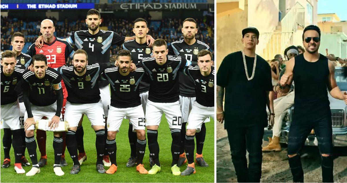 """Rusia 2018: Se viraliza canción para la Selección de Argentina inspirada en """"Despacito"""""""