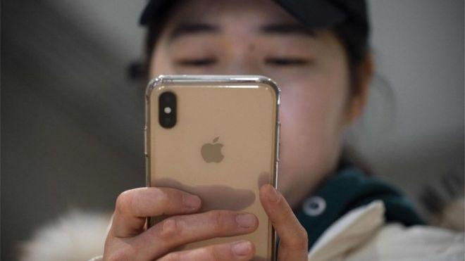 Apple confía en China en torno al 20% de sus ingresos. AFP