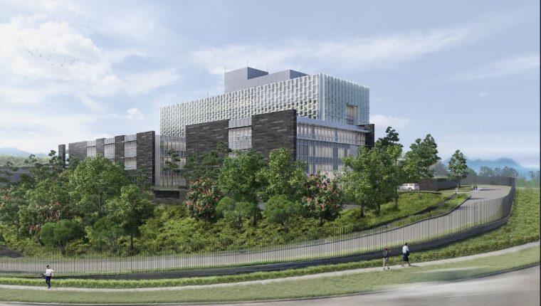 La nueva embajada de EE. UU. será una de las primeras construcciones en el país con diseño en favor del ambiente. (Foto: Embajada de EE. UU.)