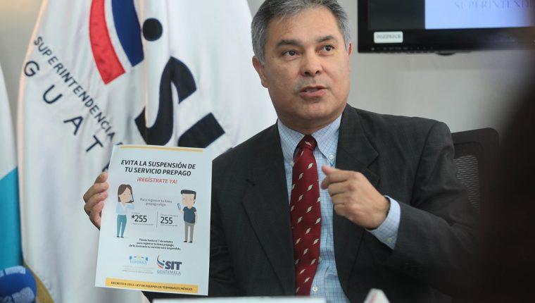 Raúl Solares Chiú, jefe de la SIT. (Foto Prensa Libre: Álvaro Interiano)
