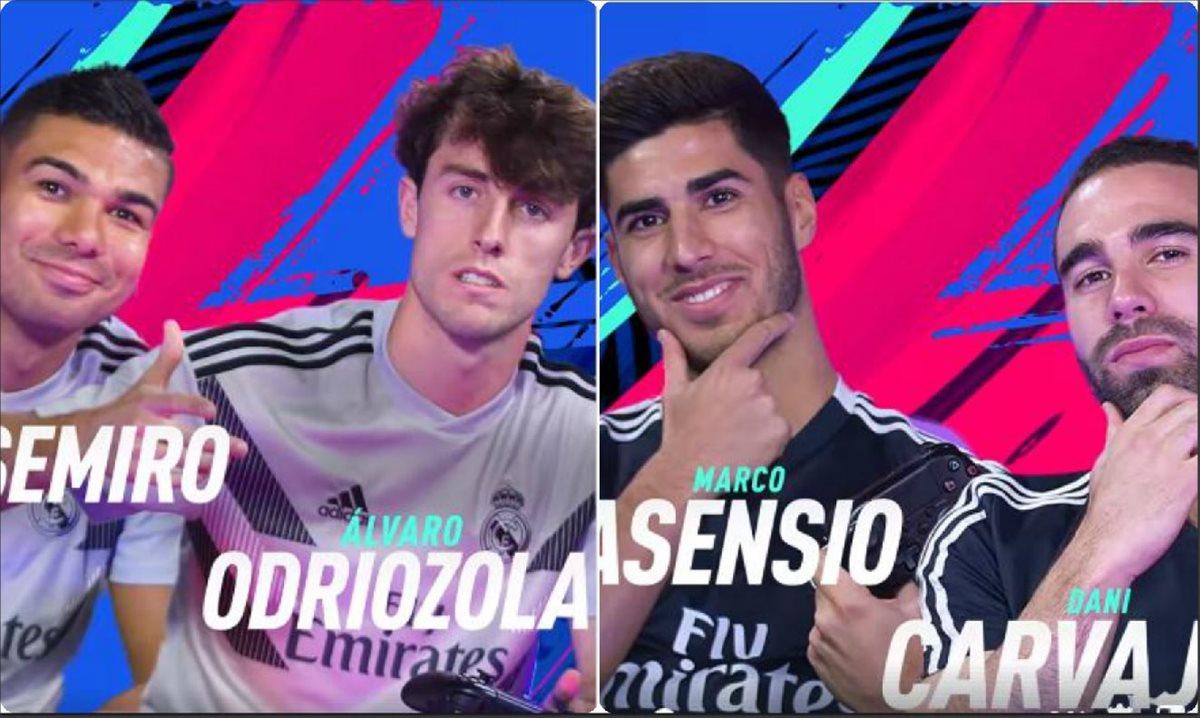 Jugadores del Real Madrid reviven la final de la Champions en EA Sports Fifa 2019