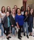 """Varias de las mujeres que recibieron el mensaje desesperado del joven universitario crearon el grupo """"Nicole From Last Night"""". Foto Prensa Libre: Facebook"""