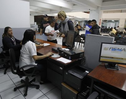 Sede del Renap. (Foto Prensa Libre: Hemeroteca PL)