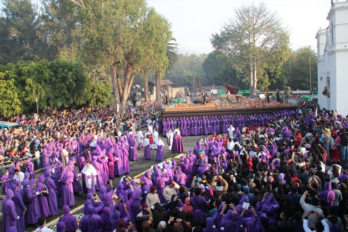 La Semana Santa comenzará el 25 marzo y finalizará el 1 de abril de este año.(Foto Prensa Libre: Hemeroteca PL)