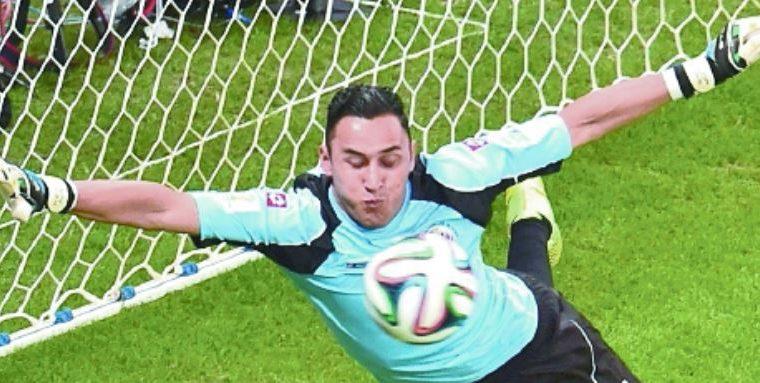 El guardameta Keylor Navas encabeza el listado de Costa Rica para el Mundial de Rusia 2018. (Foto Prensa Libre: Hemeroteca PL)