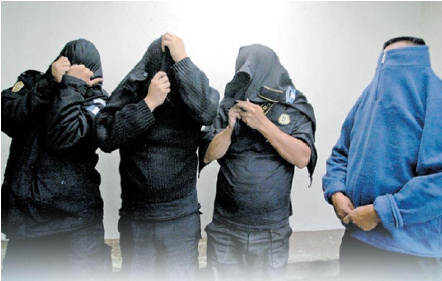 Van detenidos 183 agentes de la PNC