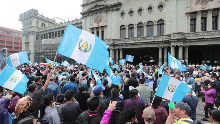 La no renovación del mandato de la Cicig ha causado protestas contra el Gobierno. (Foto: Hemeroteca PL)