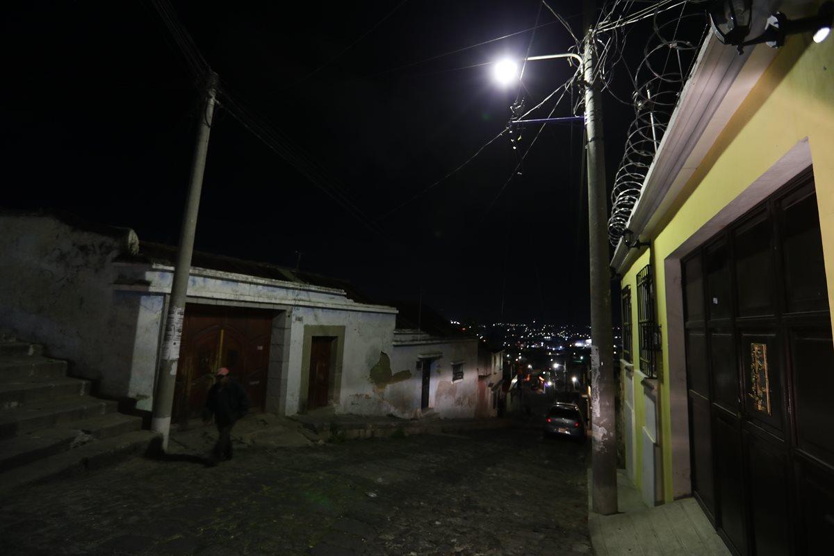 La Empresa Eléctrica Municipal de Quetzaltenango comenzará a cobrar más por el servicio de luz y alumbrado público en febrero del 2019. (Foto Prensa Libre: Mynor Toc)