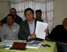 Carlos Alvarado, vicepresidente de Chiantla, asegura que están perjudicando el nombre del equipo. (Foto Prensa Libre: Mike Castillo)