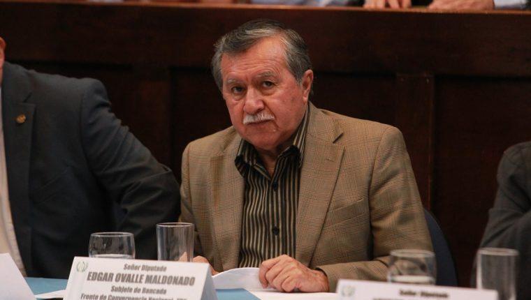 La Corte de Constitucionalidad denegó un amparo al diputado oficialista Édgar Ovalle Maldonado. (Foto Prensa Libre: Hemeroteca PL)