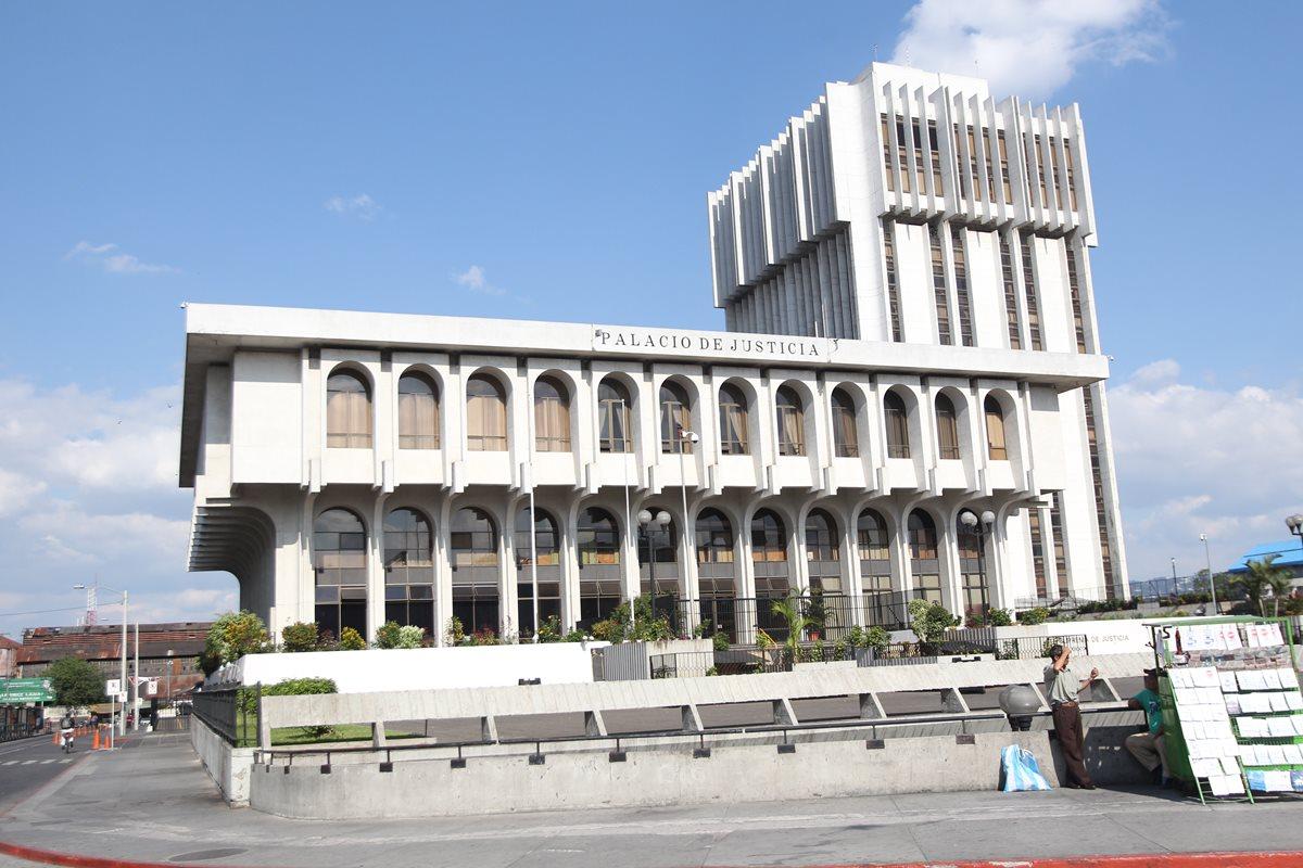 La Corte Suprema de Justicia tramitó la solicitud de antejuicio en contra del magistrado Mis Ávila. (Foto Prensa Libre: Hemeroteca PL)