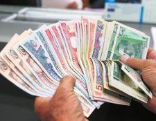 Atención en agencias bancarias del país será irregular este viernes 14 de septiembre del 2018. (Foto Prensa Libre: Hemeroteca)