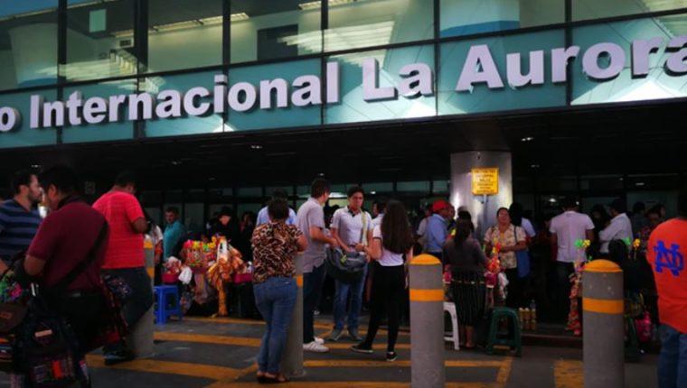En febrero del 2017 el Aeropuerto Internacional La Aurora aún se encontraba clasificado dentro de la Categoría 1 de la FAA, el viernes pasado fue excluído del listado. (Foto Prensa Libre: Hemeroteca)