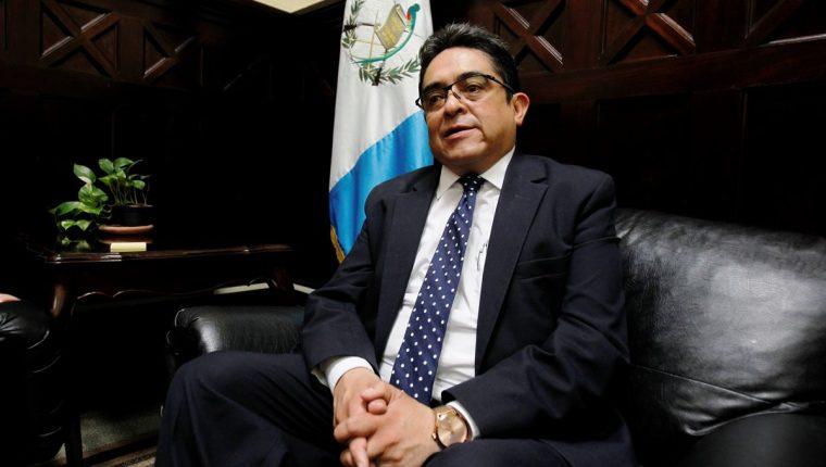 El procurador de Derechos Humanos podría enfrentar un proceso de investigación por una supuesta vulnerabilidad de la independencia judicial. (Foto Prensa Libre: Hemeroteca PL)