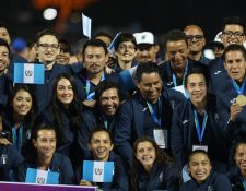 La delegación guatemalteca dio su máximo esfuerzo y se quedó con el primer lugar de las justas. (Foto Prensa Libre: Carlos Vicente)