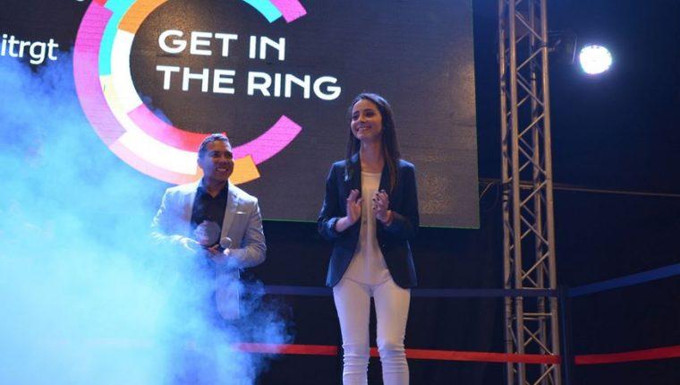 Karen Cecilia Cojulún de Llenamáster fue la ganadora de Get in the Ring Guatemala del 2017. (Foto Prensa Libre: UFM)