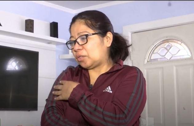 Enma Pamal cuenta a Univisión Noticias, el dolor de haber perdido a sus familiares. (Foto: Univisión)