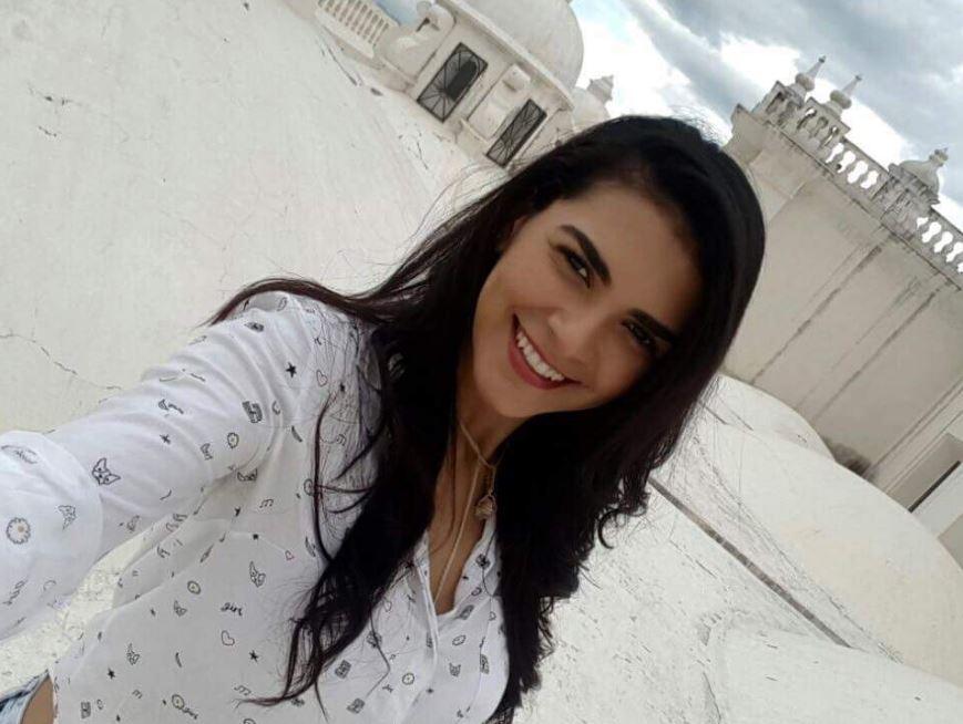 Rayneia Lima, estudiante brasileña asesinada en Nicaragua. (Foto: Twitter/@javierbauluz)