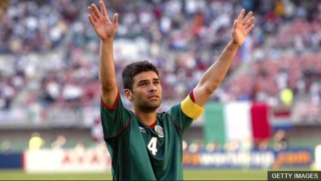 Rafael Márquez busca jugar su quinto mundial tras jugar su primero con México en 2002. (Foto Prensa Libre: BBC Mundo)