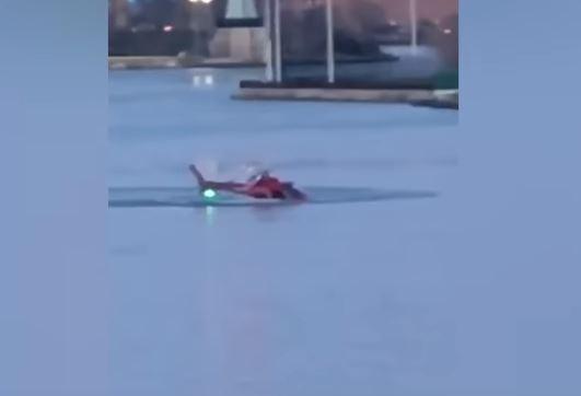 Turista graba el momento del accidente en Nueva York. (Captura de YouTube/@jjmagers)