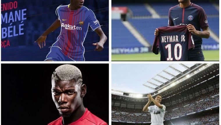 Neymar se ha convertido en la contratación más cara de la historia del futbol. (Foto Prensa Libre).