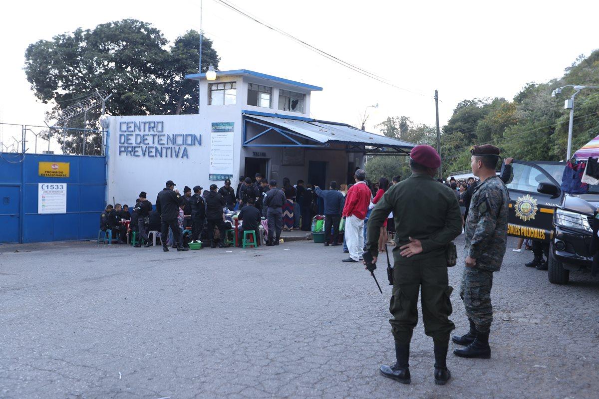 La cárcel más grande del país El Preventivo donde hay más de seis mil reos. (Foto Prensa Libre: Hemeroteca)