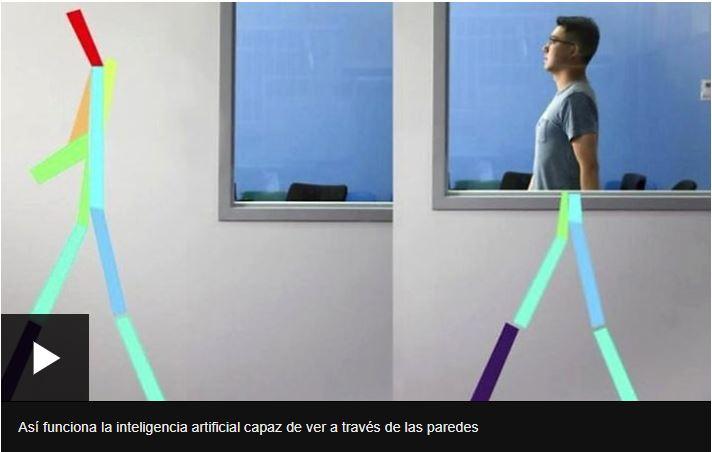 Así funciona la inteligencia artificial capaz de ver a través de las paredes.
