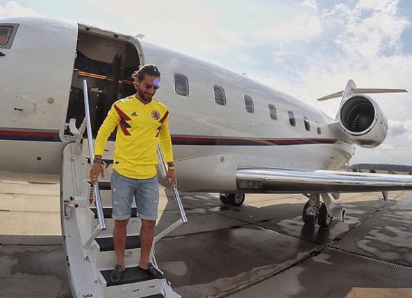 Maluma anunció en sus redes sociales que se encontraba rumbo a Saransk (Foto Prensa Libre: Instagram @Maluma)