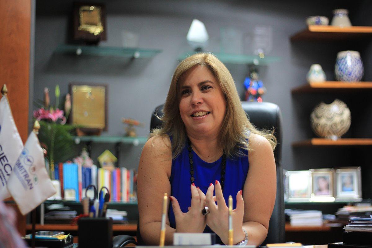 Mujer comprometida con la integración económica de Centroamérica