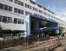 el hospital Roosevelt tuvo más pacientes por intoxicación alcohólica y niños quemados. (Foto Prensa Libre: Hemeroteca PL)