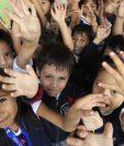 Los niños pueden tener más oportunidades cuando tienen acceso a una buena educación. (Foto Prensa Libre: Hemeroteca)