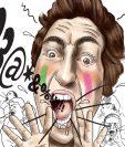La violencia verbal ha sido la más constante en los distintos escenarios deportivos. (Ilustración Estabán Arreola).