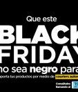 Las compras en línea se disparan en noviembre en Guatemala por el Black Friday y Cyber Monday, la SAT recomendó a los usuarios utilizar couriers autorizados. (Foto Prensa Libre: Twitter SATGT)